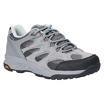 Hi-Tec Womens Wild-Fire Low I Waterproof Womens Walking Shoes Cool Grey/Graphite/Iceberg