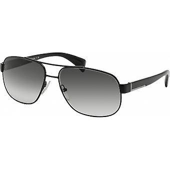 Prada SPR52P Black Shining Grey Degraded