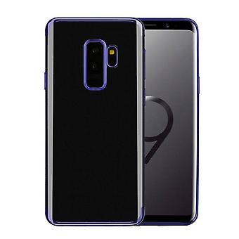 Hoesje Backcover Clear voor Samsung S9 Plus Blauw