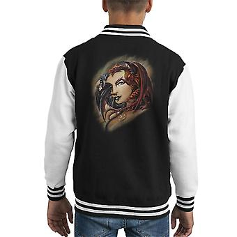 Alchemy Morgan Theomachia Kid's Varsity Jacket