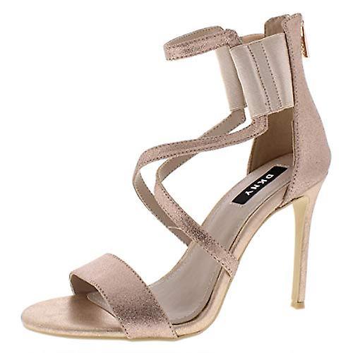 INC Womens Lil Metallic Strappy Dress Sandals
