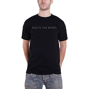 Bring Me The Horizon T Shirt Thats The Spirit Band Logo Official Mens New Black