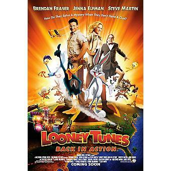 Looney Tunes: takaisin toiminnassa (Reprint) uudelleentulostus juliste