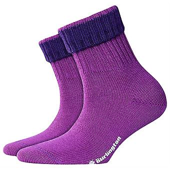 Burlington Plymouth Socken - Caribbean Purple