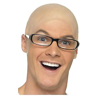 Plešatý kože hlavy maškarné šaty príslušenstvo