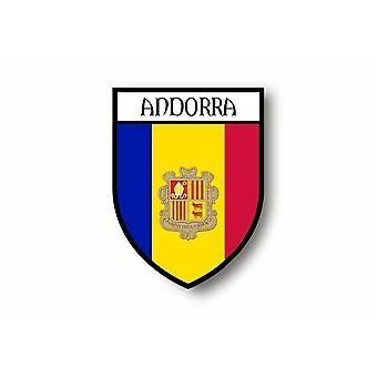 Tarra tarra auton Moto Blason City Flag Andorra