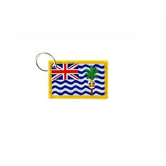 Cle Cles Brode Patch Ecusson Flag Flag British Indian Ocean