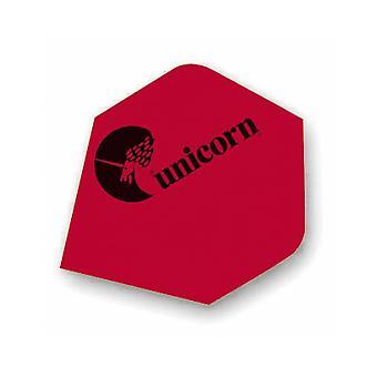 Unicorn Darts Maestro.100 Plus Flights Micron Logo Ultra Strong - Red