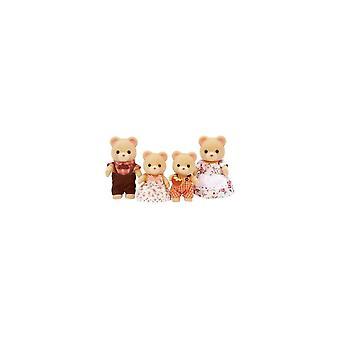 Famílias Sylvanian urso família 5059