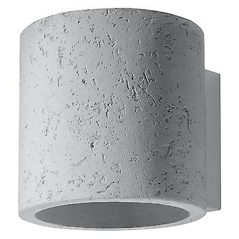 Sollux ORBIS 1 lys væg lys off hvid SL. 0486