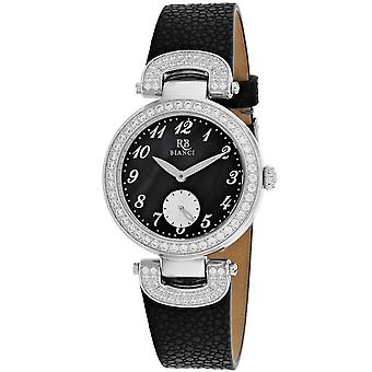 Roberto Bianci Women's Alessandra Black mother of pearl Dial Watch - RB0611
