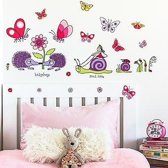 Tyrrell Katz Secret Garden Wall Stickers