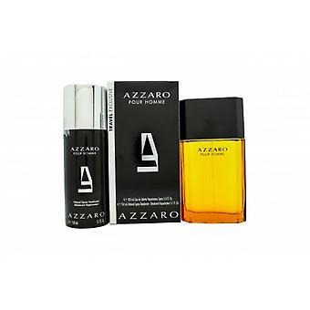 Azzaro Pour Homme Gift Set 100ml EDT + 150ml Deodorant Spray