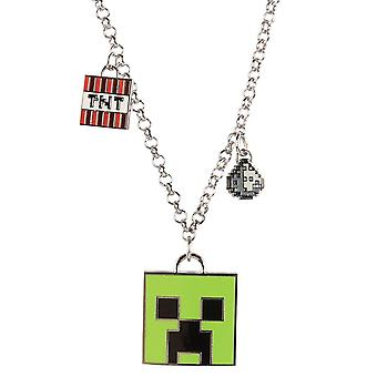 Minecraft, Necklace - Enchanted Creeper