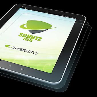 2x HD skjermbeskytter til Samsung Galaxy Tab en 8,0 2019 T290 T295 beskyttende film + pusseklut