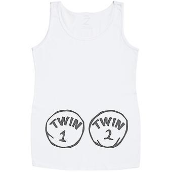 Twin 1 Twin 2 Maternity Vest Top