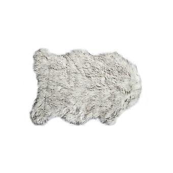 "24 ""x 36"" x 1.5 ""מעבר אפור מלאכותי מזויף-שטיח שטח"
