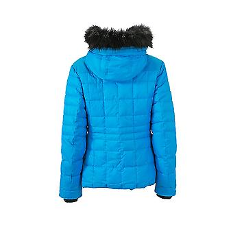 James and Nicholson Womens/Ladies Padded Touch Fastening Wintersport Jacket