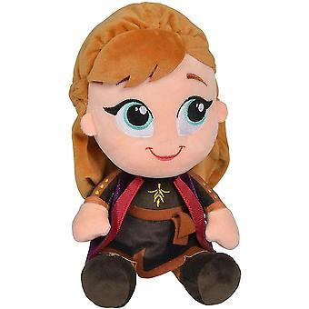 Disney Frozen 2 Frost Anna plus Doll umplute moale țesut 30cm