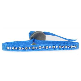 Les verwisselbare Strap A50119-blauw kristal vrouwen