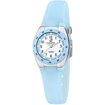 Calypso K6043-D - watch Silicone blue girl