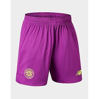 New New Balance Celtic FC 2019/20 Goalkeeper Away Shorts Purple