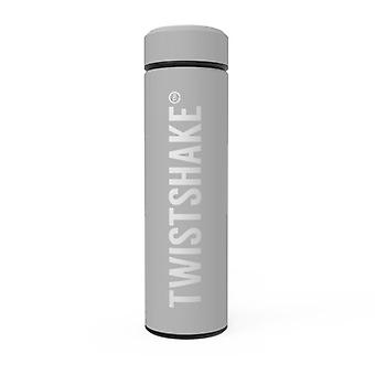 Thermos Botella Twistshake Pastel Gris