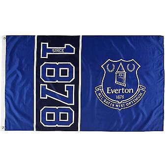 Everton FC Official Football Since 1878 5 X 3 Flag