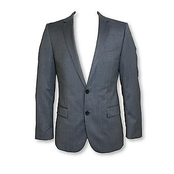 HUGO BOSS Amaro fully structured blazer jacket in grey stripe