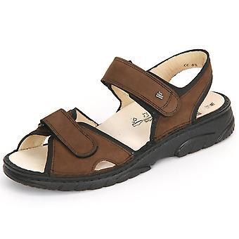 Finn Comfort Colorado Havannaschwarz Buggy 01150900101 universal summer men shoes