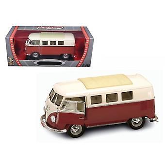 1962 Volkswagen Microbus Brown 1/18 Diecast Car Model par Road Signature