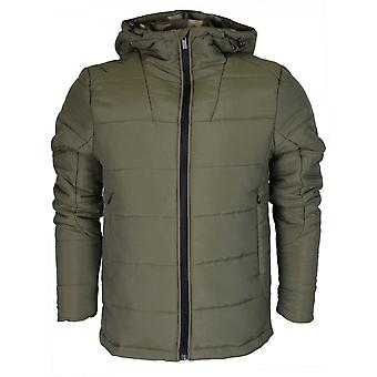 Born Rich Rafael Polyester Zip Green Jacket