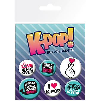 K-POP Idézetek Badge Pack