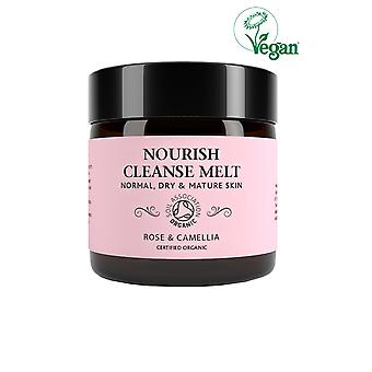 Botanicals Natural Organic Skincare Nourish Cleanse Melt Rose and Camelia 60g Normal, Dry