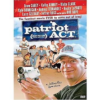 Patriot Act: Jeffrey Ross koti elokuva (2006) DVD
