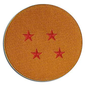 Patch - Dragon Ball Z - 4-Star Ball New Iron-On ge44124