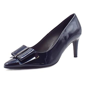 Peter Kaiser Rexa Dressy Pointed Toe Court Shoes In Notte Mura