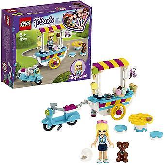 LEGO 41389 Friends Jäätelökärrypeli stephanien, skootterin ja dashin kanssa