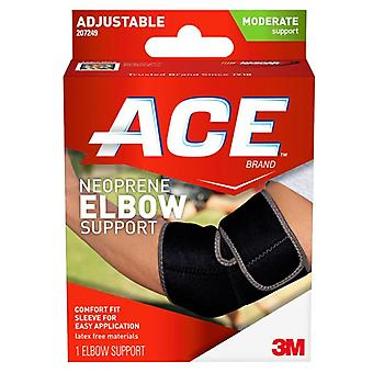 3m ace brand neoprene elbow support, moderate support, adjustable, 1 ea
