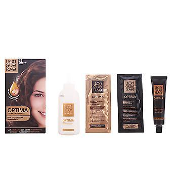 Llongueras Optima cheveux couleur #5.3-or brun unisexe