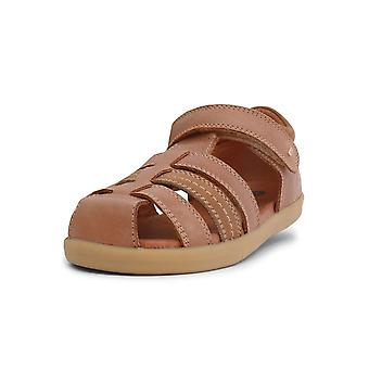 Bobux kid + roam caramel sandals