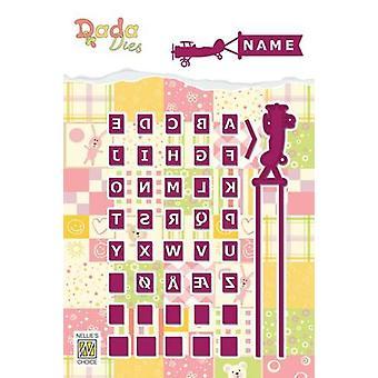 Nellie's Scelta DADA Aereo muore alfabeto DDD011
