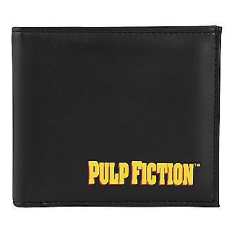 Pulp Fiction Cadeau officiel Mia Wallace Vintage Affiche Shot Cuir Money Portefeuille