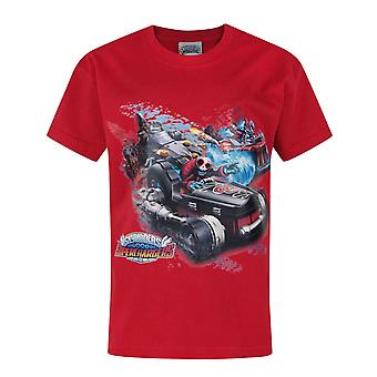 Skylanders Superchargers Drive Characters Red Boy's T-Shirt