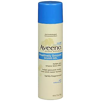 Aveeno positivt smooth shave gel, 7 oz
