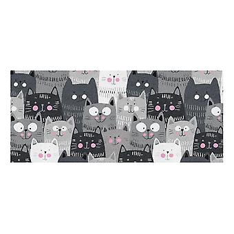 Kids Rug - Cats - Washable - 65 x 150 cm