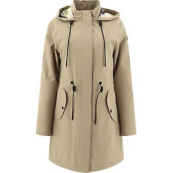 Moose Knuckles M10lp209169 Women's Beige Polyester Outerwear Jacket