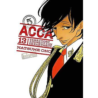 ACCA - Vol. 5 by Natsume Ono - 9780316446822 Book