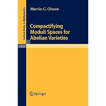 Compactifying Moduli Spaces for Abelian Varieties by Martin C. Olsson