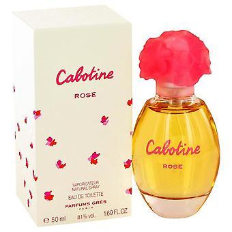 Cabotine Rose Eau De Toilette Spray By Parfums Gres 1.7 oz Eau De Toilette Spray